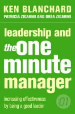 the one minute manager Step two: one minute praising : one minute praising requires the manager to give crystal-clear feedback to their employees the manager/teacher catches the.
