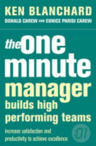 one minute manager Ken Blanchard